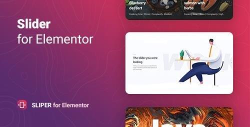 CodeCanyon - Sliper v1.0.0 - Full-screen Slider for Elementor - 29926843