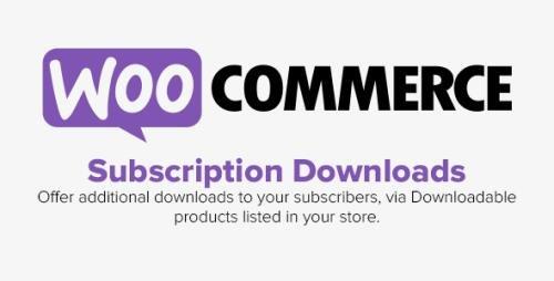 WooCommerce - Subscription Downloads v1.1.31