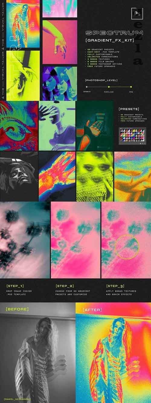 CreativeMarket - Spectrum Fx Kit 5725479
