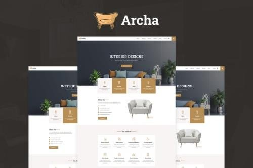 ThemeForest - Archa v1.0.0 - Interior Design & Architecture Elementor Template Kit - 29972521