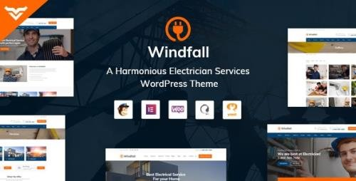 ThemeForest - Windfall v1.3.1 - Electrician Services WordPress Theme - 23710886