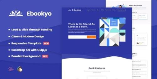 ThemeForest - Ebookyo v1.0.0 - Ebook HTMLLanding Page Template - 29497755