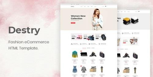 ThemeForest - Destry v1.0.0 - Fashion eCommerce HTML Template - 29946635