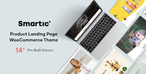 ThemeForest - Smartic v1.5.0 - Product Landing Page WooCommerce Theme - 29259690