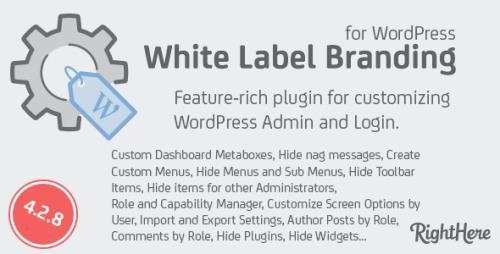 CodeCanyon - White Label Branding for WordPress v4.2.8.98287 - 125617