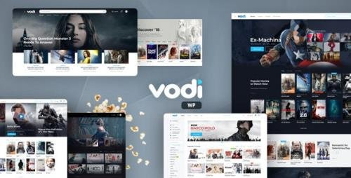 ThemeForest - Vodi v1.2.4 - Video WordPress Theme for Movies & TV Shows - 23738703