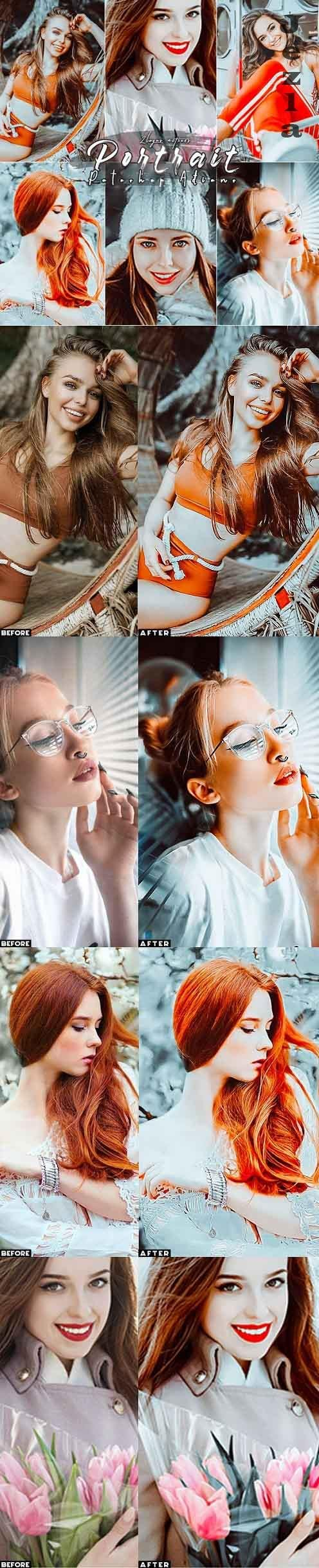 Master Portrait Photoshop Actions - 29916092