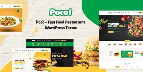 ThemeForest - Poco v1.5.0 - Fast Food Restaurant WordPress Theme - 28465454