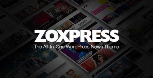 ThemeForest - ZoxPress v2.01.0 - The All-In-One WordPress News Theme - 25586170