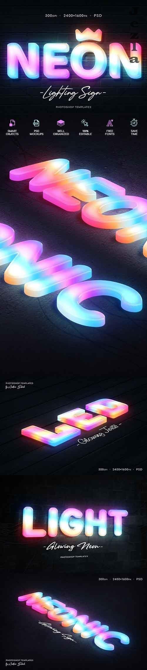 GraphicRiver - Neon Wall Sign Creator 29931299