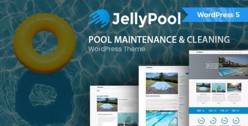 ThemeForest - JellyPool v1.3 - Pool Maintenance & Cleaning WordPress Theme - 20034360