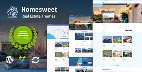 ThemeForest - HomeSweet v1.7 - Real Estate WordPress Theme - 20560953