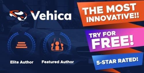 ThemeForest - Vehica v1.0.36 - Car Dealer & Automotive Directory - 28437452