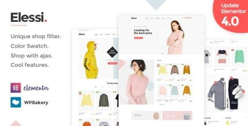 ThemeForest - Elessi v4.1.4 - WooCommerce AJAX WordPress Theme - RTL support - 20968615