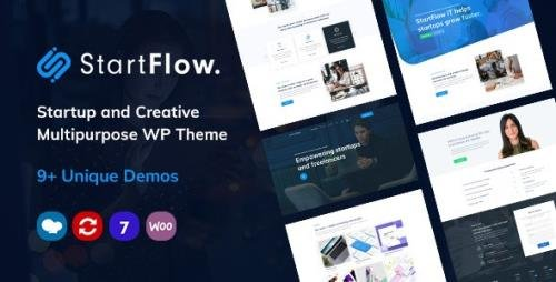 ThemeForest - StartFlow v1.11 - Responsive Multipurpose WordPress Theme - 24096681