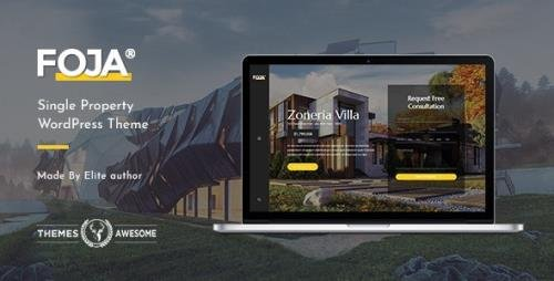 ThemeForest - Foja v1.5 - Single Property WordPress Theme - 21490739