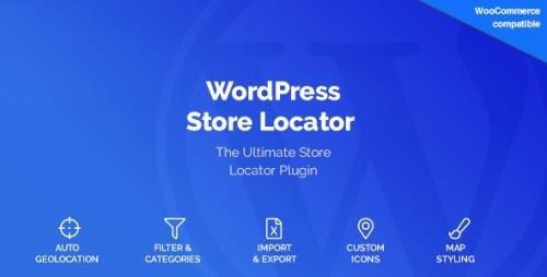 CodeCanyon - WordPress Store Locator v2.0.8 - 15762057