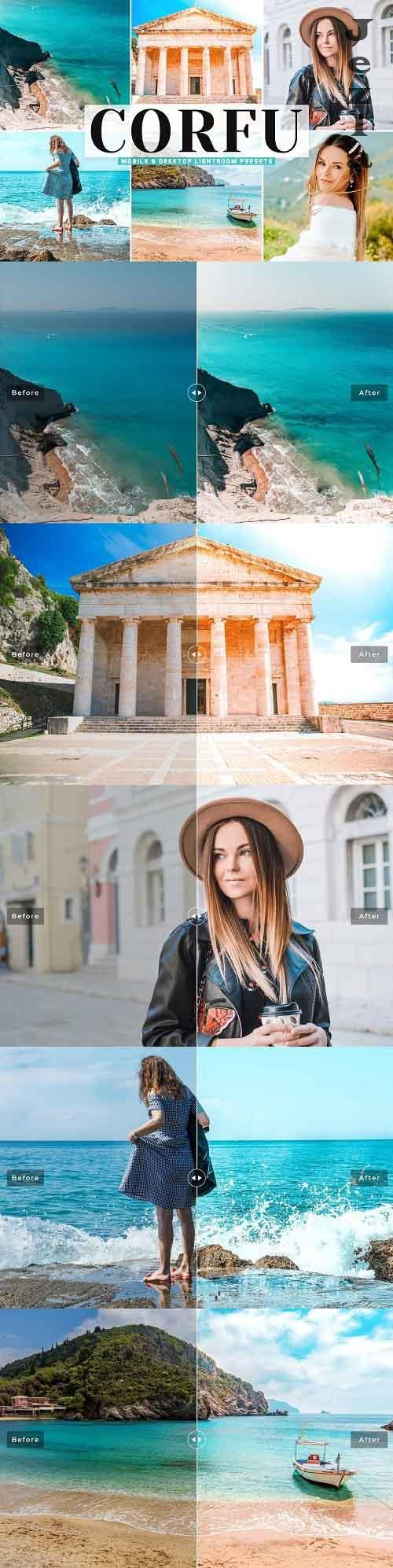 Corfu Pro Lightroom Presets - 5772671 - Mobile & Desktop