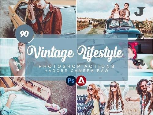 Vintage Lifestyle Photoshop Actions - 5733816