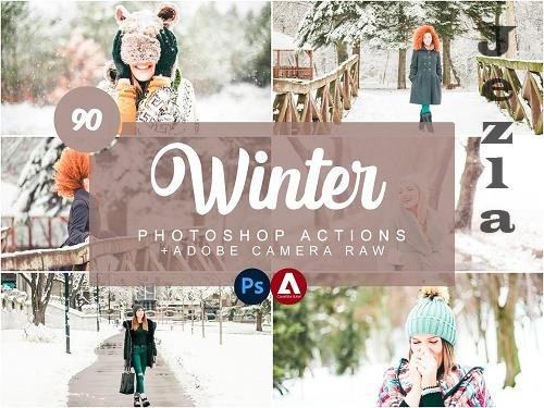 Winter Photoshop Actions - 5733862