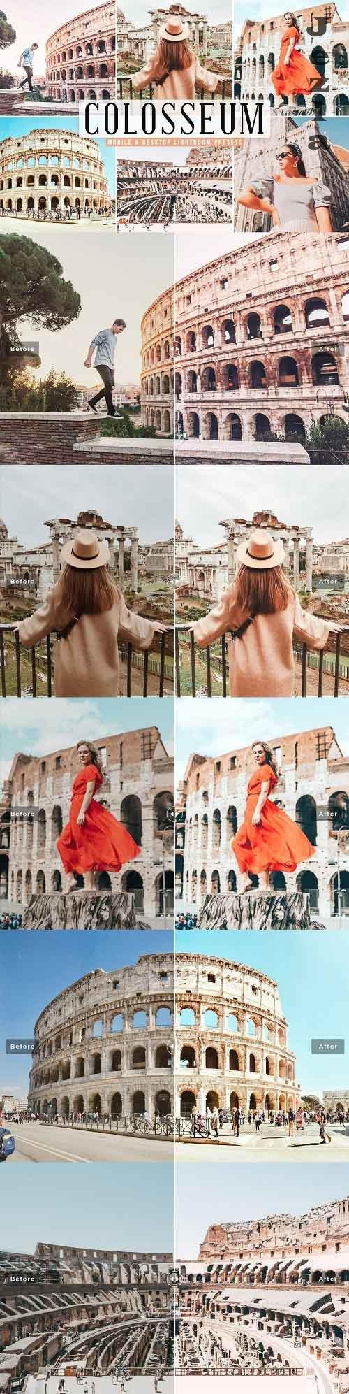 Colosseum Pro Lightroom Presets - 5772331 - Mobile & Desktop