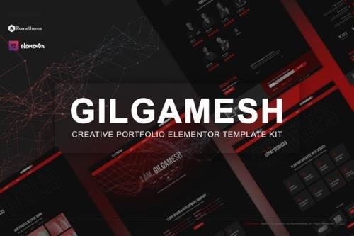 ThemeForest - Gilgamesh v1.0.1 - Creative Portfolio Elementor Template Kit - 29972448