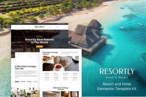 ThemeForest - Resortly v1.0.0 - Resort & Hotel Elementor Template Kit - 30048642