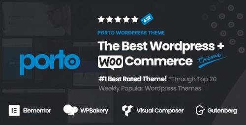 ThemeForest - Porto v6.0.2 - Multipurpose & WooCommerce Theme - 9207399 -