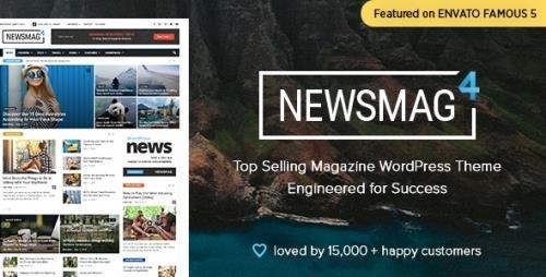ThemeForest - Newsmag v4.9.6 - Newspaper & Magazine WordPress Theme - 9512331 -