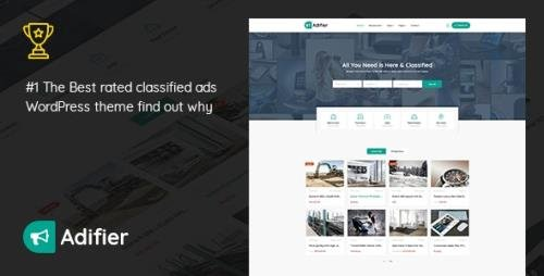 ThemeForest - Adifier v3.8.6 - Classified Ads WordPress Theme - 21633950