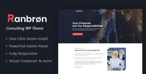 ThemeForest - Ranbron v2.3 - Business and Consulting WordPress Theme - 22294129