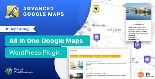 CodeCanyon - Advanced Google Maps Plugin for Wordpress v5.2.8 - 5211638