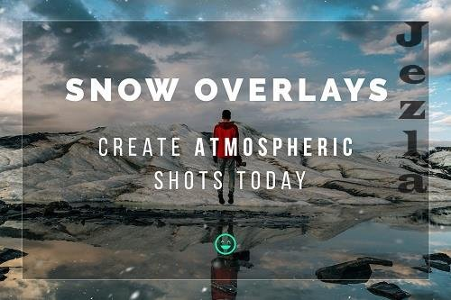 CreativeMarket - Snow Overlays 5772714