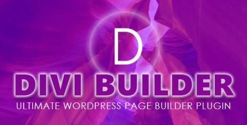 ElegantThemes - Divi Builder v4.8 - Ultimate WordPress Page Builder Plugin + Divi Layout Pack