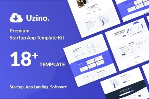 ThemeForest - Uzino v1.0.0 - Startup App Elementor Template Kit - 29985869