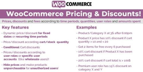 CodeCanyon - WooCommerce Pricing & Discounts! v13.1 - 14679278 -