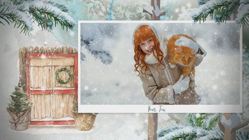 Проект ProShow Producer - Winter Tales