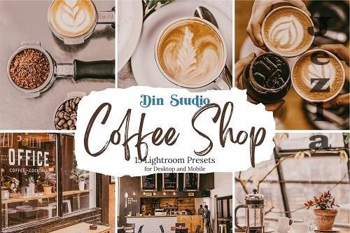 CreativeMarket - Coffee Shop LRM Presets 5480314