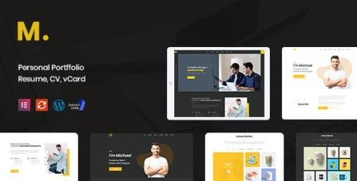 ThemeForest - Mak v1.2.6 - Personal Portfolio & Resume WordPress Theme - 22800988