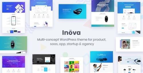 ThemeForest - Inova v3.6 - Multipurpose WordPress Theme For Startups & Agencies - 20421233