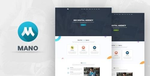 ThemeForest - Mano v1.0 - One Page Parallax - 23327926