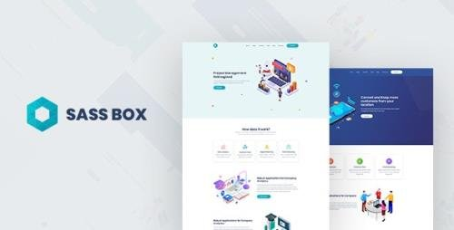 ThemeForest - Sassbox v1.0 - Startup and SaaS Template - 24160791
