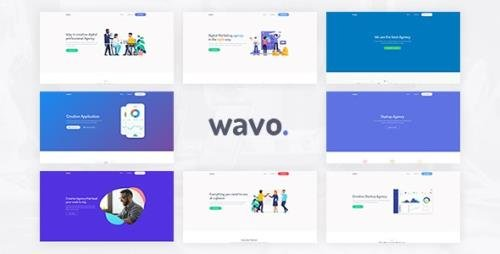 ThemeForest - Wavo v1.0 - Responsive Bootstrap SaaS, Startup & WebApp Template - 24637844
