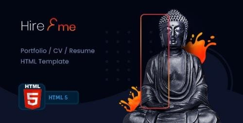 ThemeForest - HireMe v1.0 - Accountant Portfolio HTML Template (Update: 4 January 21) - 29873554