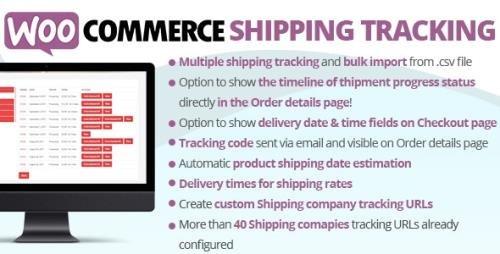 CodeCanyon - WooCommerce Shipping Tracking v27.6 - 11363158 -