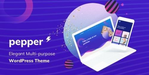 ThemeForest - Pepper v1.5 - Elegent Multi Purpose WordPress Theme - 22714350