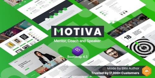 ThemeForest - Motiva v1.0 - Mentor, Coach and Speaker Website Template - 29997890