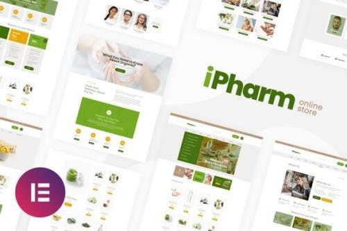 ThemeForest - iPharm v1.0.0 - Online Pharmacy Woocommerce Elementor Template Kit - 30026466
