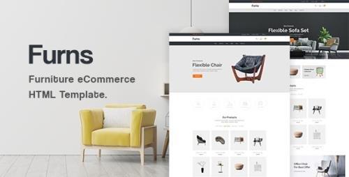 ThemeForest - Furns v1.0 - Furniture eCommerce HTML Template - 29896131