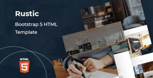 ThemeForest - Rustic v1.0 - Corporate Bootstrap 5 HTML Template - 30167008